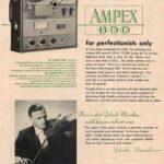 AMPEX 600 Tube Amp
