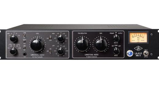 UNIVERSAL AUDIO LA-610 MKII、コスパ最強のチャンネルストリップ!