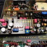 ヴィンテージアンプのボソボソ、ガサゴソノイズを解決!
