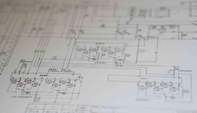 【録音機材】回路図の簡単な読み方【Neve1073】