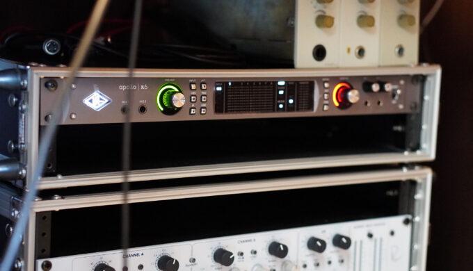 【TWIN】UNIVERSAL AUDIO APOLLO Xの音質チェック!マイク録音でSSL2他と比較してみた