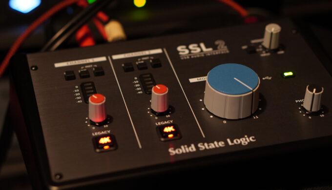 SSL2 VS SSL9000!実機とラインアンプの音質を比べてみた【スタンドアローン】