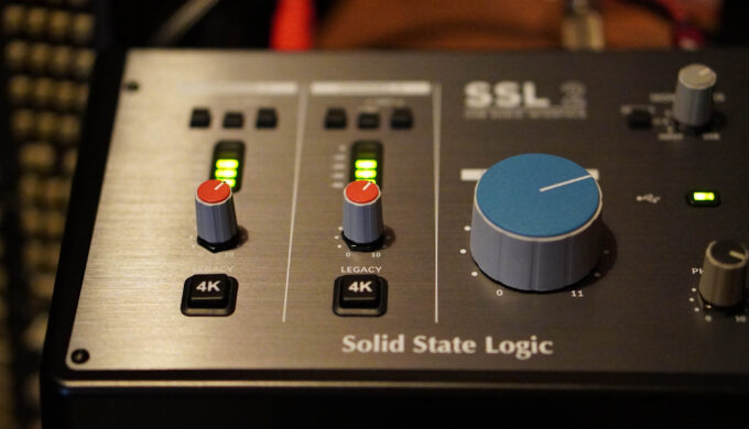 SSL2のLINE INの音質をキーボードでチェック!SSL2+も欲しくなってしまう結果に