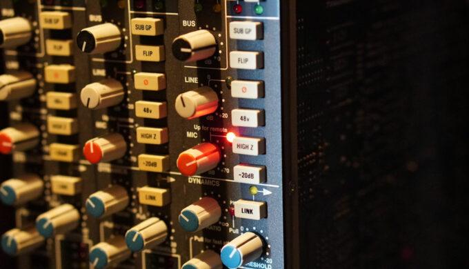 SSL2とSSL9000コンソールのマイクプリアンプの音質を比べてみた!音源あり