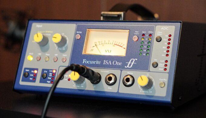 FOCUSRITE ISA OneのDI入力でエレキギターの音がワンランクアップ!【DTM】