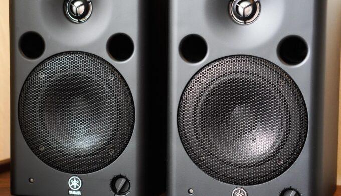 YAMAHA MSP5モニタースピーカーのレビュー。DTMで長く使える安定音質