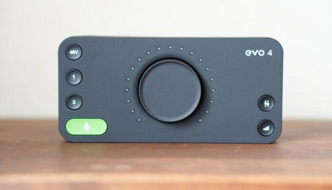 audient EVO 4のレビュー!勝手に音量調整してくれるのが便利すぎた