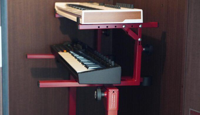 頑強!K&M 18820 Omega Proキーボードスタンドのレビュー