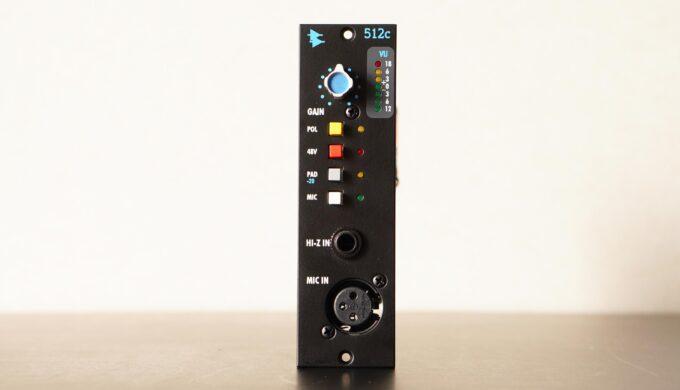 API 512Cの使用レビュー!カラッと晴れた音色の定番マイクプリアンプ