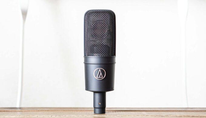 audio technica AT4040の使用レビュー!本格派!な音を3万円台で実現するコンデンサーマイク