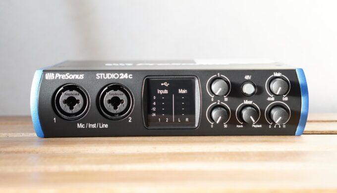 PRESONUS Studio 24cの使用レビュー!この音でこの価格は安すぎる!ハイコスパAIFだった