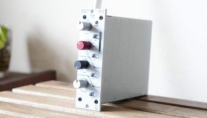 RUPERT NEVE DESIGNS Portico 511のレビュー!柔らかくて熱い音で録れるマイクプリアンプ