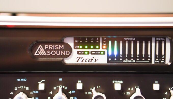 【最高峰】Prism Sound Titan導入から半年経ってわかった他機種との違い【UA RME Antelope】
