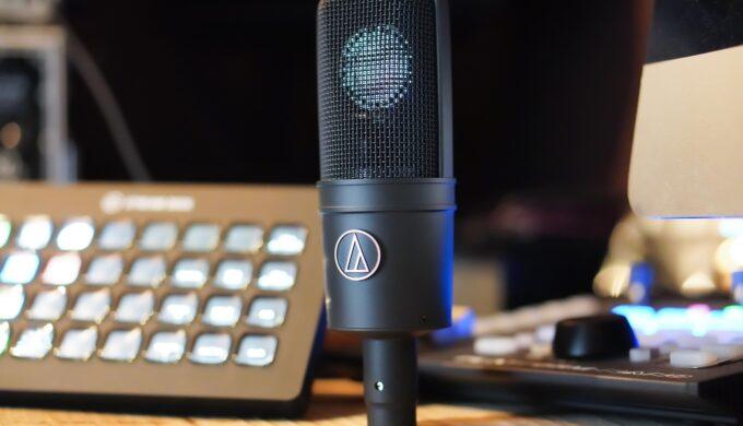 audio technica AT4040を使ってライブ配信をしてみた感想!