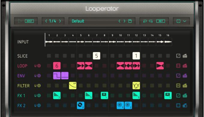 Sugar Bytes Looperator のレビュー!フレーズを一瞬で解体/再構築!