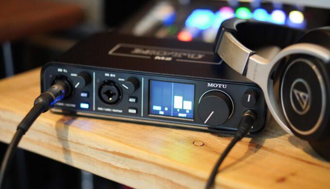 MOTU M2でエレキギターをライン録音してみた感想レビュー!