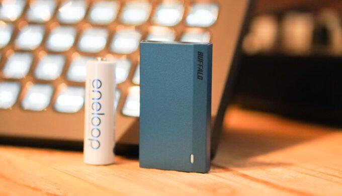DTM用外付けSSDに最適!バッファローSSD-PSM960U3-B/Nのレビュー!早い、安い、小さい、楽!