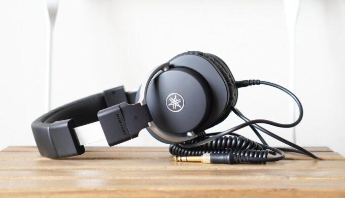 YAMAHA HPH-MT8モニターヘッドフォンの導入レビュー!高解像度でローが見える鳴りに感動